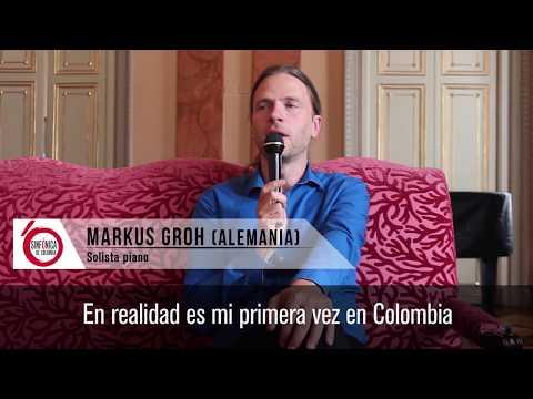El pianista Markus Groh los invita al concierto 'El emperador' de la Sinfónica Nacional