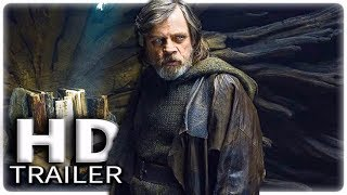 STAR WARS 8 Jedi Training Rey Trailer (2017) The Last Jedi Movie HD