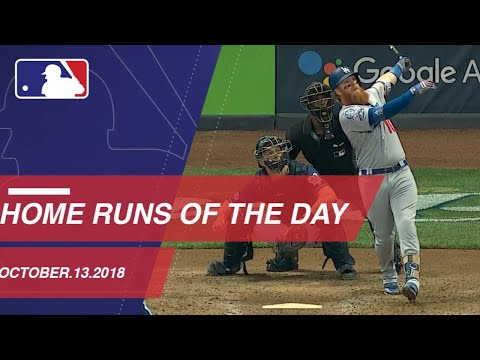 Watch all the home runs from October 13, 2018
