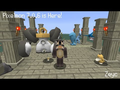 Pixelmon Update 7 0 6 Meltan and Melmetal and how to get them!
