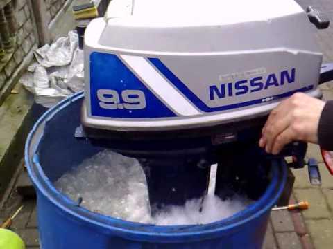 Nissan 9 9 hp outboard motor 1998r 2 stroke dwusuw for 9 9 hp outboard motors