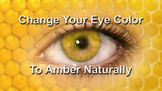 Change Your Eye Color To Amber Naturally (Subliminal)