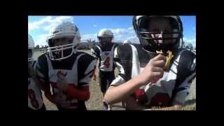HELMET CAM FOOTBALL TY THOMAS AGE 9