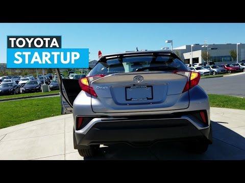 2018 Toyota CHR Startup Exhaust Engine Sound
