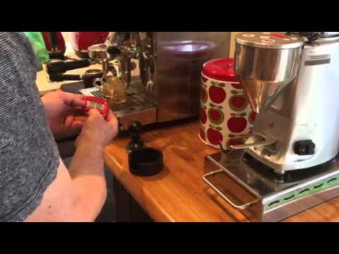 Eazytamp 5 Star Pro extracting the perfect shot