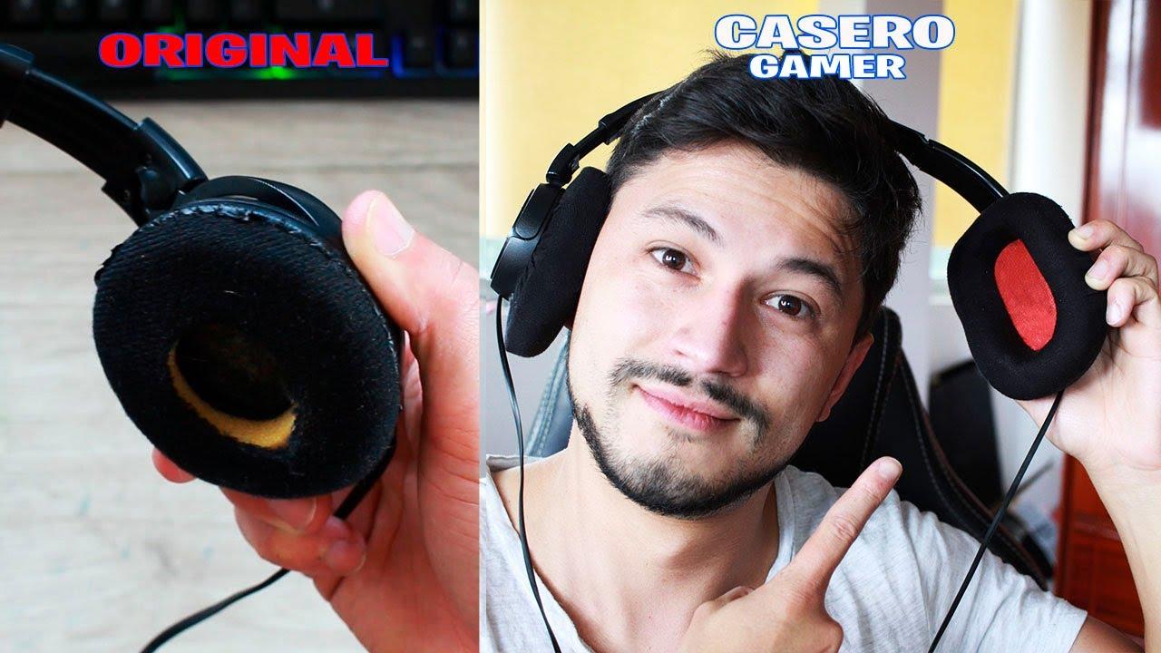 Download Como CONVERTIR unos AURICULARES NORMALES a CASCOS GAMER (gaming life hacks)