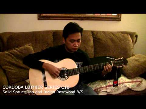 Cordoba C10 Review - Solo Classical Guitar