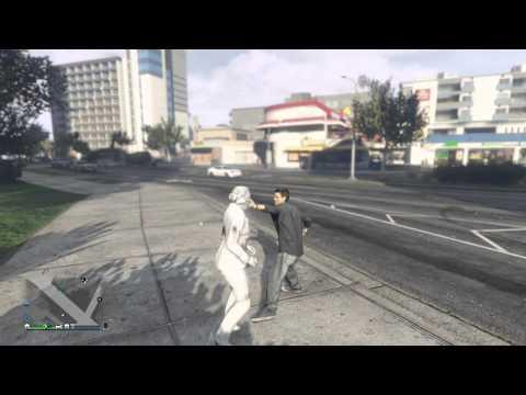 「Fat Cat」PS4遊戲-「GTA Online」-『如何用拳頭攻擊時一邊閃躲一邊反擊』!