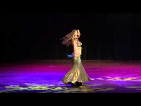 Kami Liddle Tribal Fusion Belly Dance in...