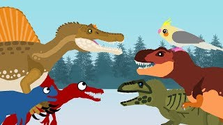 Dinosaurs Cartoons | Christmas with dinosaurs - the sequel | DinoMania