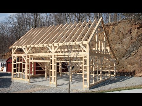 Preview: How to Raise The Barn Yard's Post & Beam Carriage Barn