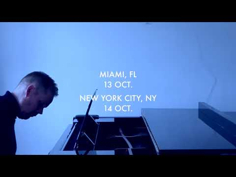 Max Richter with the American Contemporary Music Ensemble Tour Promo