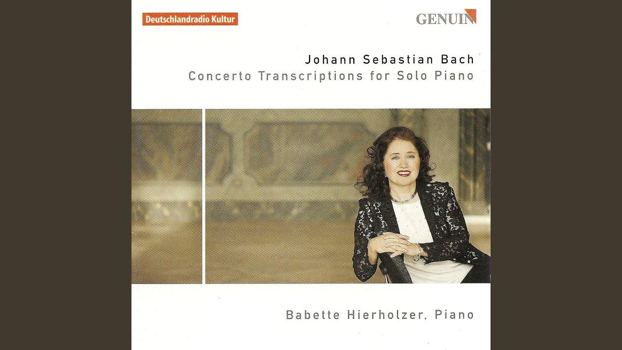 Concerto C Major BWV 977 - Keyboard