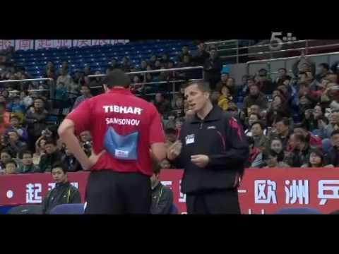 2013 Euro Asia (D1/M3): Zhang Jike Samsonov Vladimir [Full Match]