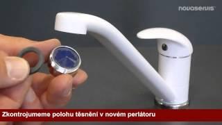 Postup výmeny perlátoru u stojánkové baterie