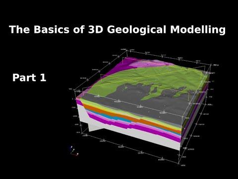 3D Geological modelling : Part 1