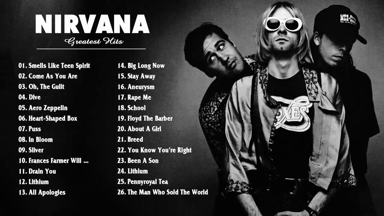 nirvana songs playlist 2017 the very best of nirvana