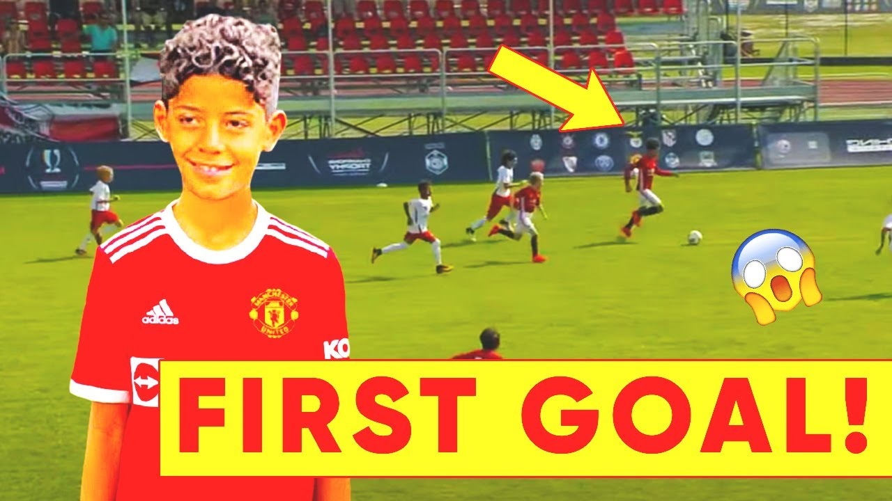 RONALDO JR' FIRST GOAL FOR MAN UTD! Cristiano is already tearing it up for Manchester United!