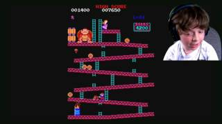 PC Retro Gameplay: Donkey Kong, Marble Madness, & Super Mario Bros