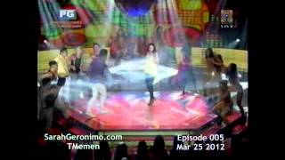 Sarah G -  SGL- Smash-up w/ Izza C.,Gab V. and Joshua Z.