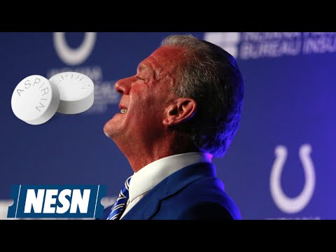 Jim Irsay Equates Risks Of Playing Football To Aspirin