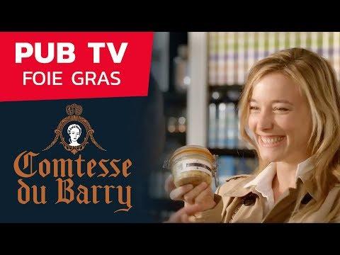 Vidéo Spot TV Comtesse du Barry - Foie Gras