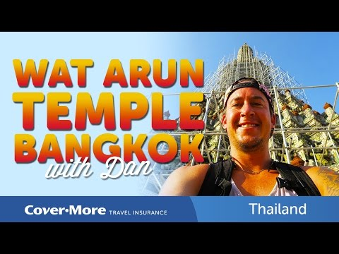Wat Arun Temple, Bangkok | Cover-More Travel Insurance