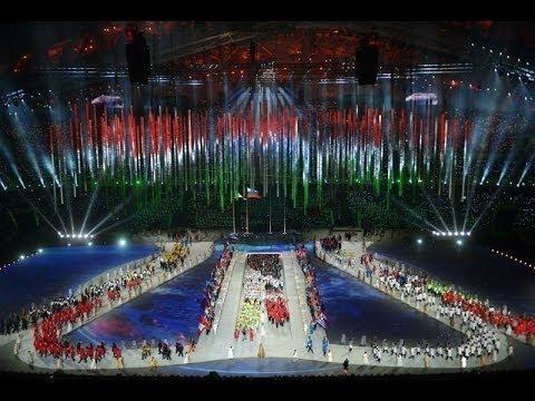 Церемония закрытия XXII ОЛИМПИЙСКИХ ИГР В СОЧИ 2014
