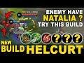 [UPDATE] NEW Build Helcurt Anti Natalia - Satu Combo Langsung Mati - Mobile Legends Indonesia