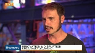 Tesla CEO Elon Musk's Brother Kimbal On Where Family's Entrepreneur Spark Comes From