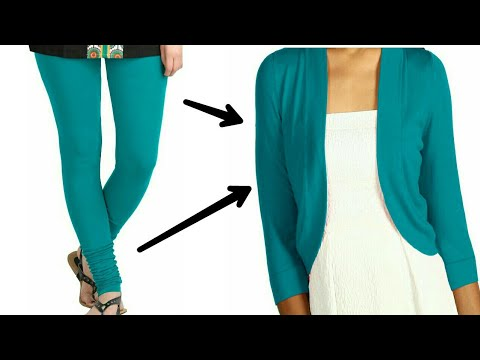 convert/recycle/reuse-old-leggings-into-a-shrug-only-in-2-minutes/old-leggings-reuse||-(hindi)