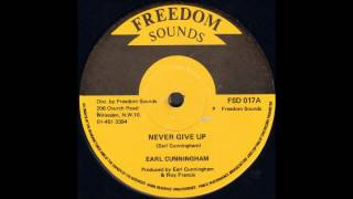 Earl Cunningham - Never Give Up