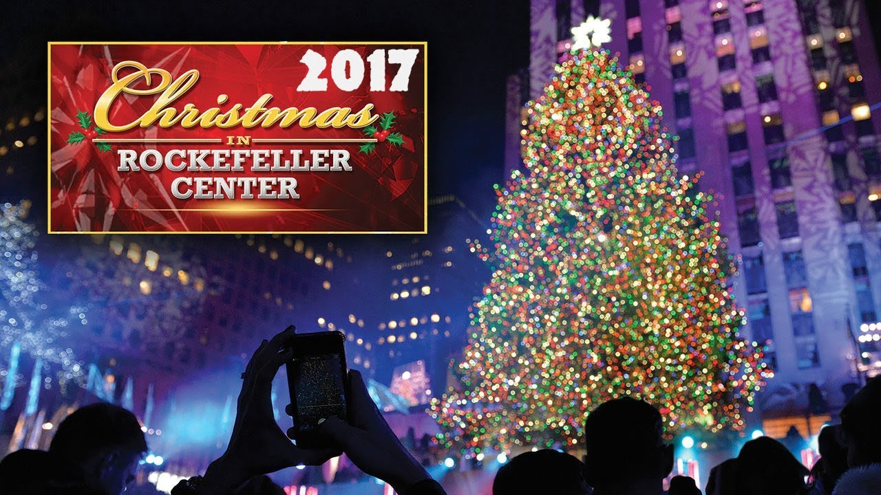 Christmas Tree Lighting Nyc 2017