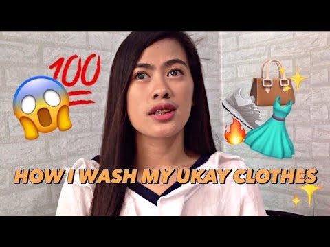 HOW I WASH MY UKAY CLOTHES?