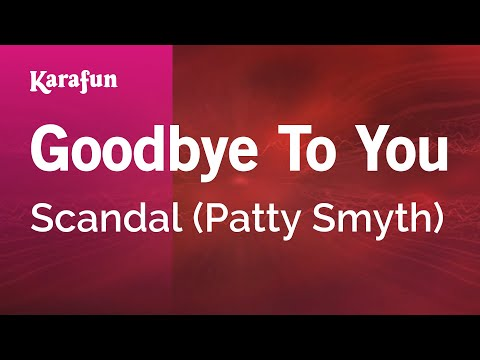 Karaoke Goodbye To You - Scandal *