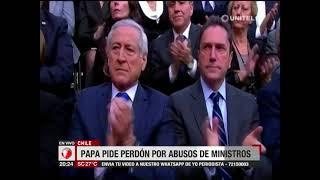 Papa Francisco pide perdón por abusos sexuales cometidos por ministros