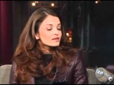 Aishwarya Rai on David Letterman Show