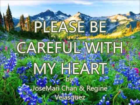 PLEASE BE CAREFUL WITH MY HEART-(created by:Zairah)