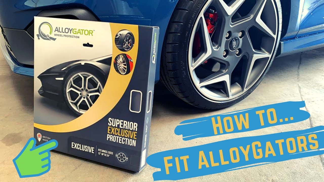 Gator Garage Wheel Protector How To Fit Alloy Gators To Your Car Approved Fitters Alloygator Alloy Wheel Rim Protectors