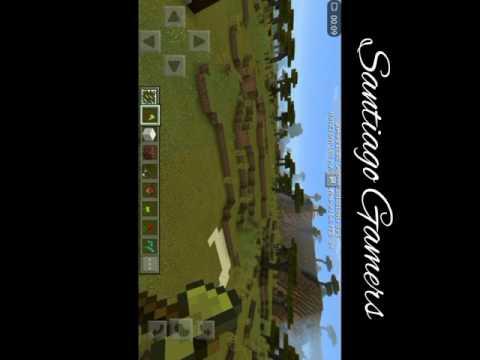 2da parte de mis casas | Minecraft Pokect Edition | [Santiago Gamers]