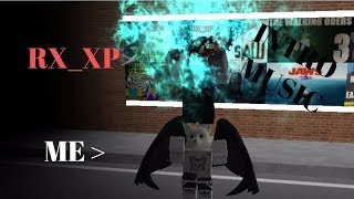 ME AND RX DANCING TO MY INTRO SONG IN ROBLOX