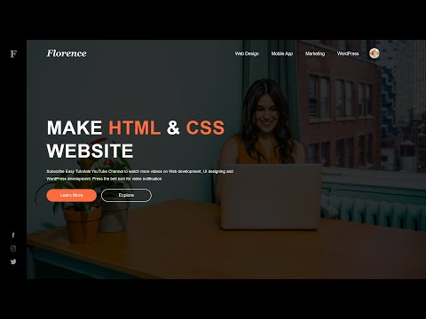 How To Make Website With Html And Css Step By Step Tutorial Web Design In Html Css Youtube