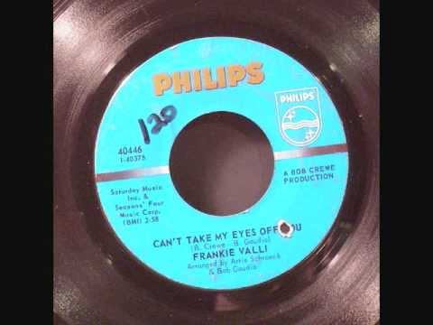 "Frankie Valli- ""Can't Take My Eyes Off You"" (Lyrics in Description)"