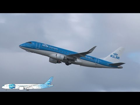 NH Airtime S01E06(NL) | KLM Cityhopper Embraer 175+