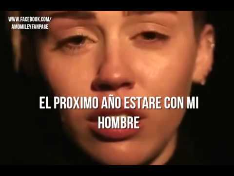 Miley Cyrus - My Sad Christmas Song en español