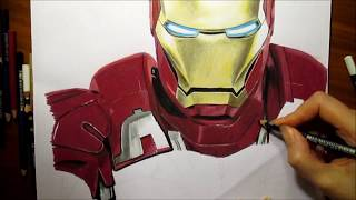 Speed Drawing: Iron Man | Jasmina Susak