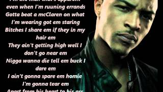 T.I. ft. Akon - Hero (Lyrics)