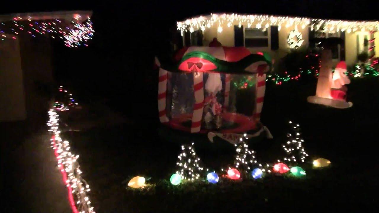 00251 Christmas Lights Boca Raton Nw 5 Ave