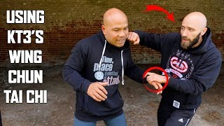 How to defense against a sucker punch | using kt3's wing chun tai chi self defence New Series