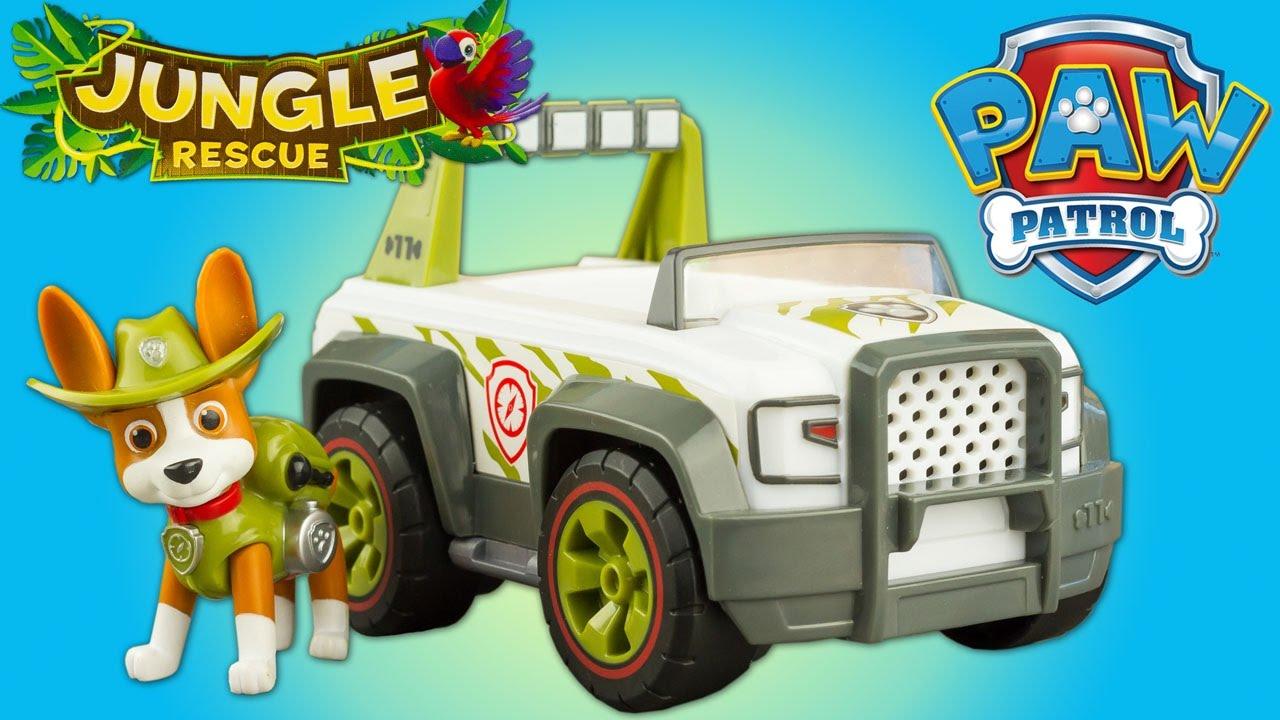 Paw Patrol Jungle Rescue Tracker S Jungle Cruiser Review Patrulla De Cachorros Toys For Kids